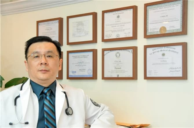 郑力法拉盛家庭医生执照证书 Family Practice Physician Dr Li Zheng Certifications